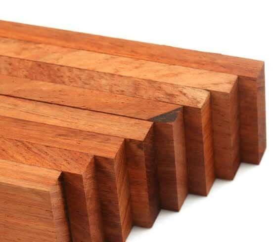 Ghana rosewood timber