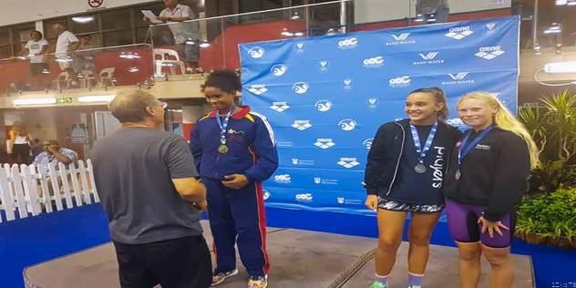 Zimbabwe Swimmer Sets Championship Record