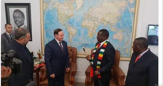 Belarusian Official In Zimbabwe