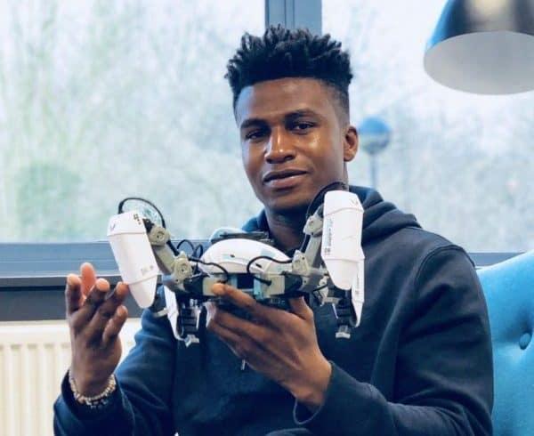 Nigerian Robotics Engineer