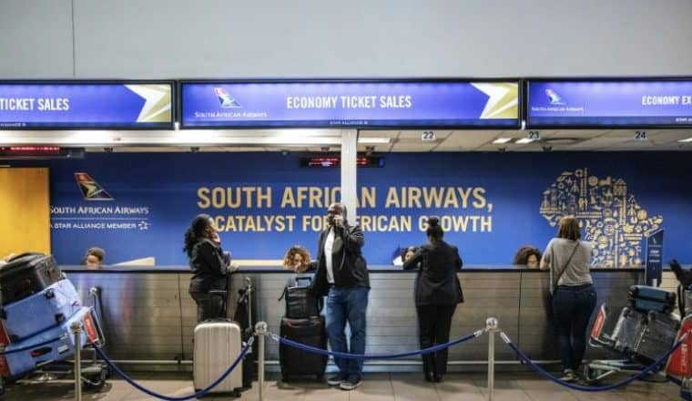 South African Airways begins last ditch rescue plan to