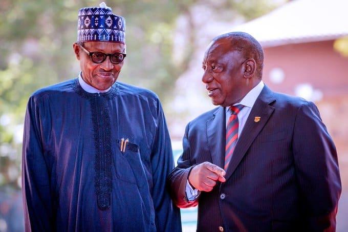 Ramaphosa and Buhari