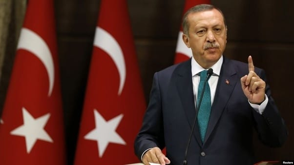 Erdogan tyranny