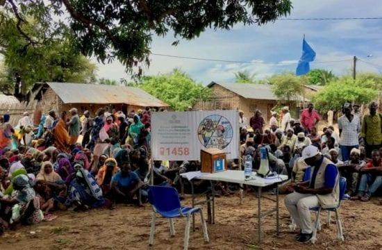 Mozambique Violence escape