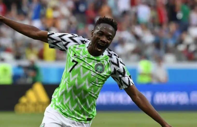 Ahmed Musa reveals why he cried after his 2 goals vs Iceland - Know Afrika