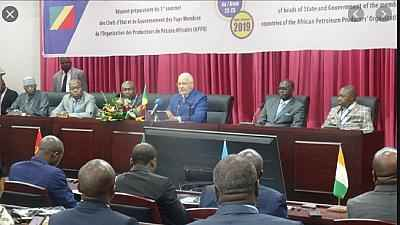 Organization of Africa's oil producing countries relocate headquarters to Congo