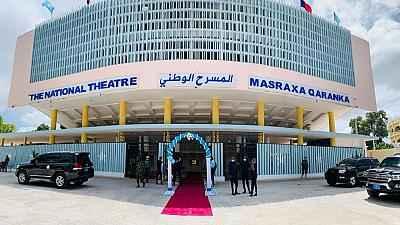 Somalia's refurbished national theater reopens in Mogadishu