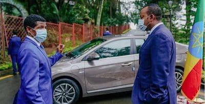 Ethiopia unveils locally-assembled electric car