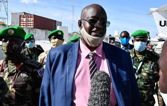 Current commander in Somalia takes over AU role