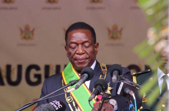 Zimbabwean President EmmersonMnangagwa