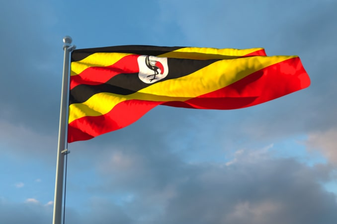 flag of the Uganda