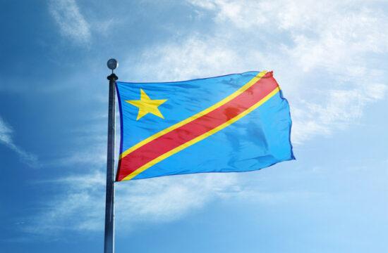 Congo National flag