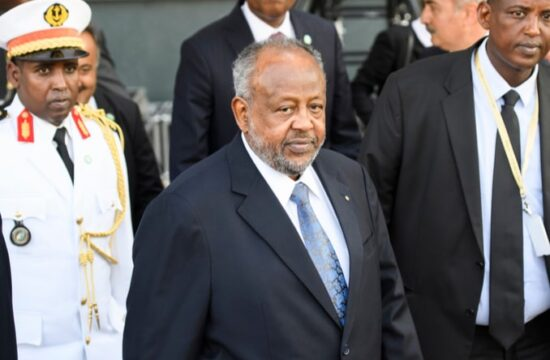 Djiboutis President Ismail Omar Guelleh