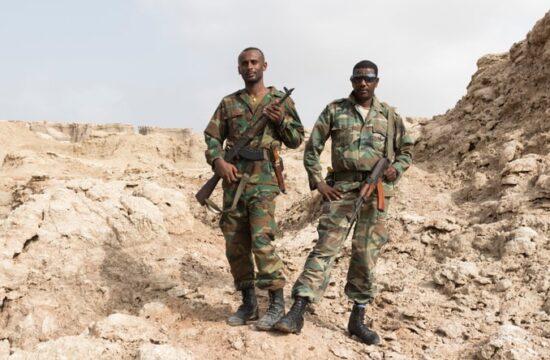 Ethiopia Eritrean troops