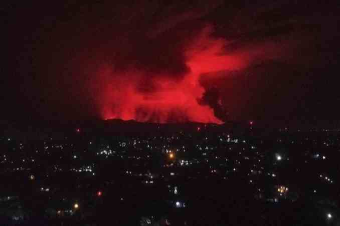 Goma region,Africa leave as volcano tremors continue,africa breaking news