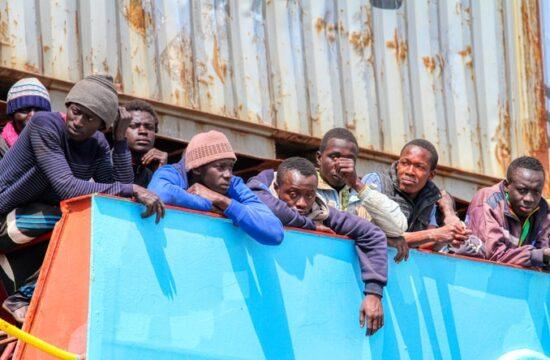 African migrant surge in Ceuta