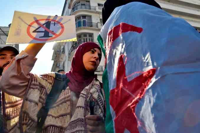 Elections in Algeria,protest movement,Algeria Election 2021