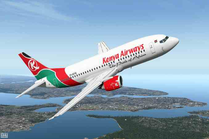 Kenyan Airlines,direct flights to Somalia