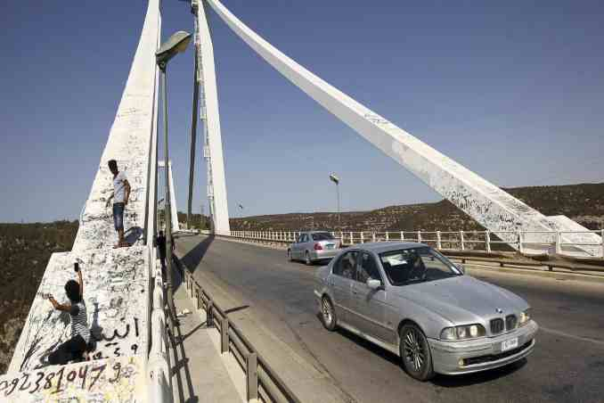 Libya reopens a highway,connects the country's east and west