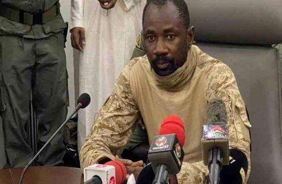 Mali's Junta leader Assimi Goita,sworn in as president,coup