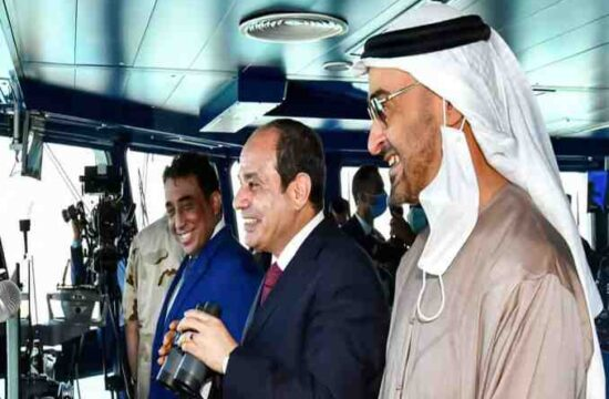 Mediterranean Sea,Egypt opens a new naval facility