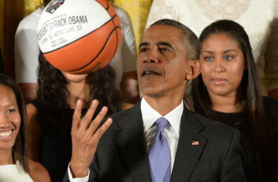 former president barack obama joins nba africa