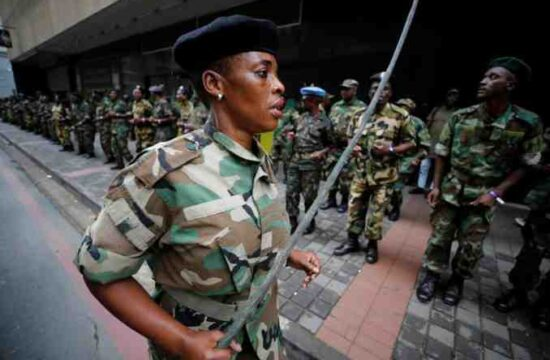 South Africa Resorts To Military Support,Mass Public Damage