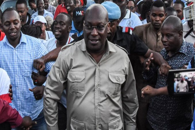 Tanzania's Chadema party,chief Freeman Mbowe arrested by police