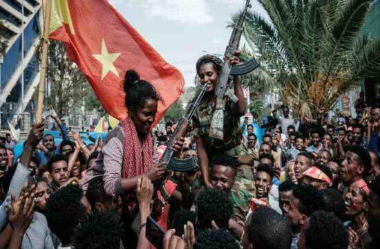 Mekele is reclaimed by the rebels,celebration in Tigray,Tigray region