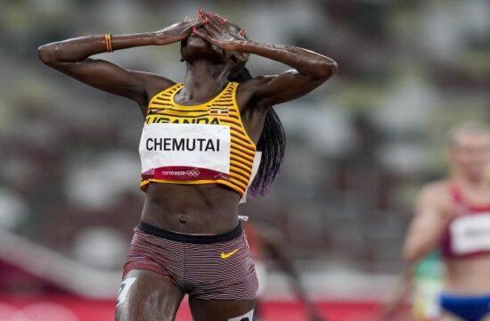 chemutai of uganda wins gold