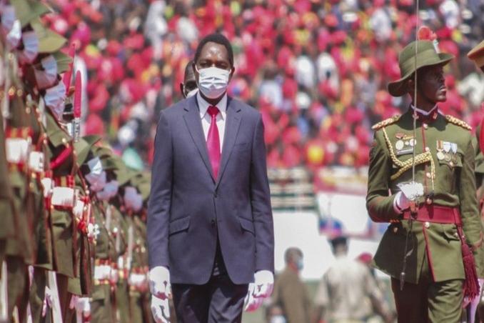 president hakainde hichilema inaugration