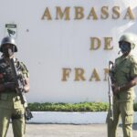 gunfire erupts near the french embassy