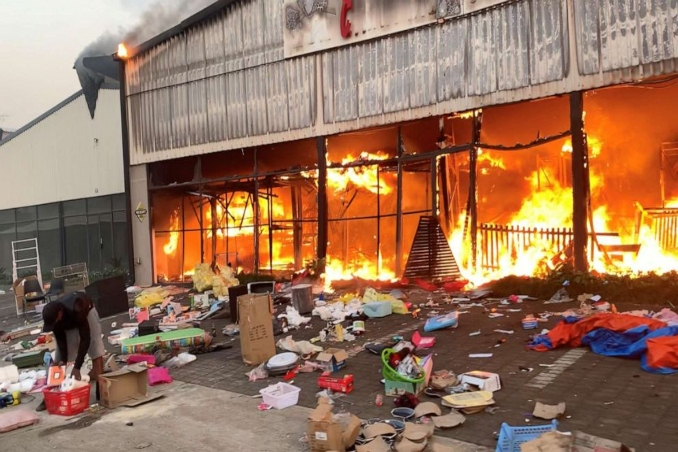 riots in south africa