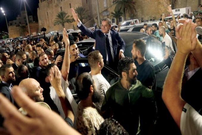 libyans protest against the no confidence vote in the interim govt call for overturning motion