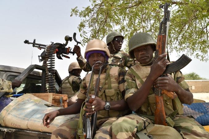 Boko Haram fighters Surrender