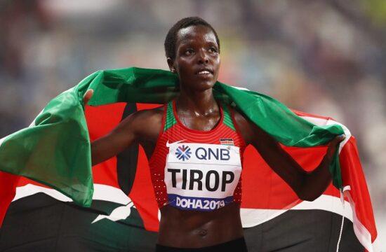 agnes tirop a murdered kenyan athlete was laid to rest in iten kenya