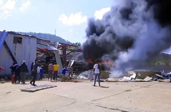 mekele the capital of tigray has become the target of a new air strike
